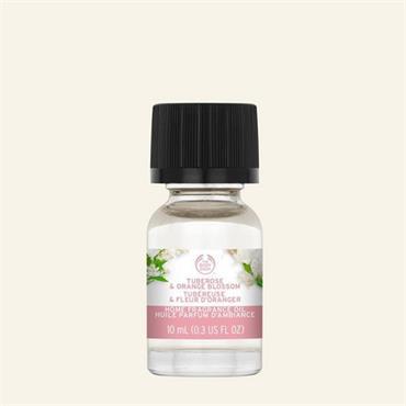 The Body Shop Tuberose & Orange Blossom Home Fragrance Oil 10ml
