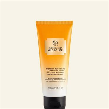 The Body Shop Oils Of Life Intensely Revitalising Cleansing Oil In Gel 100ml