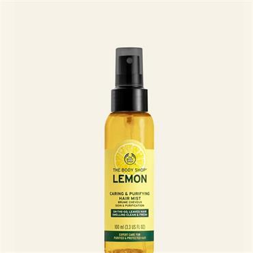 The Body Shop Lemon Caring & Purifying Hair Mist 100ml
