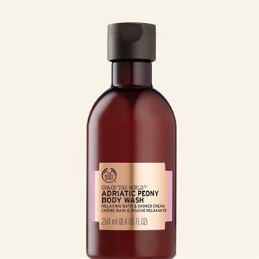 The Body Shop Spa Of The World Adriatic Peony Body Wash 250ml