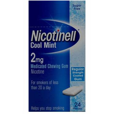 Nicotinell Cool mint Gum 4 mg 24's