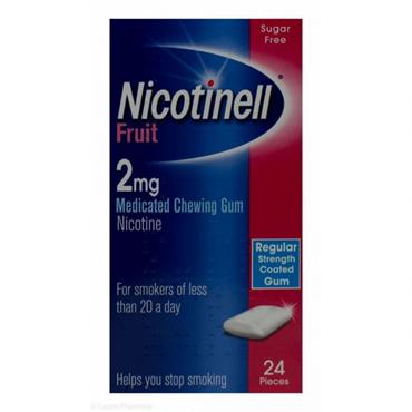 Nicotinell Fruit Gum 2mg 24's