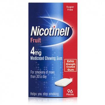 Nicotinell Fruit Gum 4mg 96's