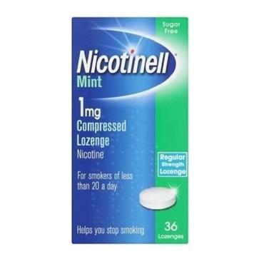 Nicotinell Mint Lozenge 1mg 36's