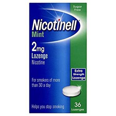 Nicotinell Mint Lozenge 2mg 36's