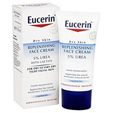 Eucerin Urea Repair Rich Replenishing Face Cream 5% Urea 50ml