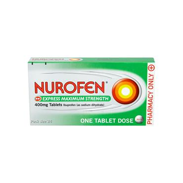 Nurofen Express Max Strength 400mg