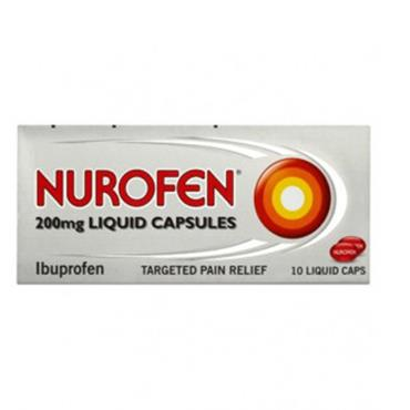 Nurofen Liquid Caps 16's