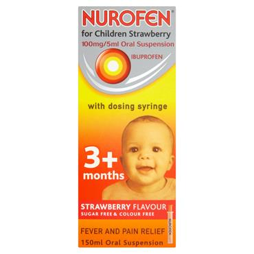 Nurofen for Children 3+mths Strawberry