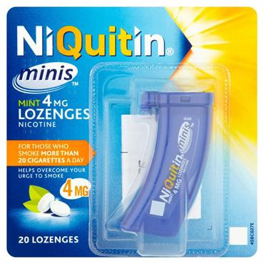 Niquitin 4MG Mini Lozenge