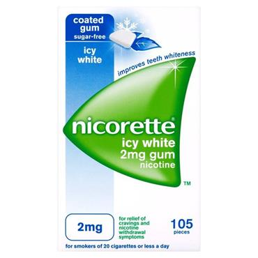 Nicorette Icy White 2mg