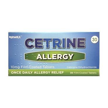 Cetrine Allergy 7's