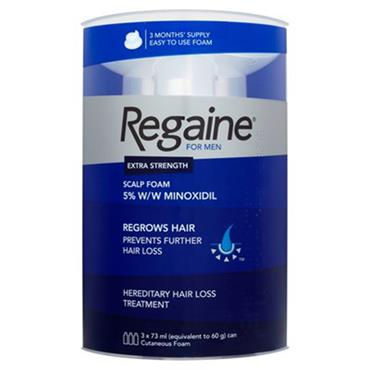 Regaine For Men 3 Month Foam