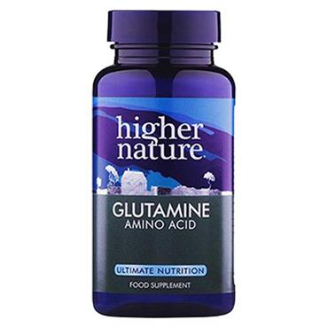 Higher Nature Glutamine 90 Capsules
