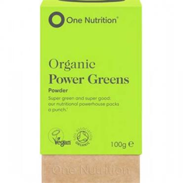 One Nutrition Organic Power Greens Powder 100g