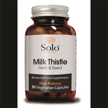 Solo Milk Thistle 30 Capsules