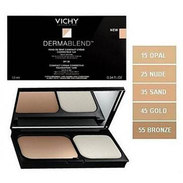 Vichy Dermablend Corrective Compact Cream Foundation 12Hr Bronze 55