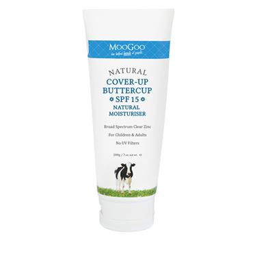 MooGoo Cover Up Buttercup SPF 15 Natural Moisturiser 200g