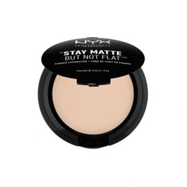 NYX Stay Matte But Not Flat Powder Foundation - Nude