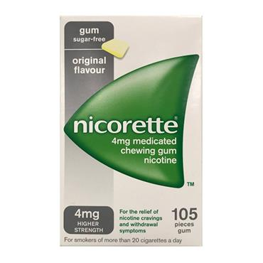 Nicorette 4mg Original