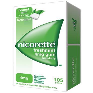 Nicorette Freshmint 4mg