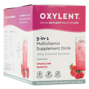 Oxylent Sparkling Berries Flavour 30 sachets/servings Pack