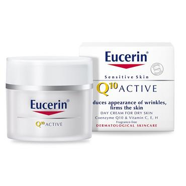 Eucerin Q10 Active Day Cream For Dry Skin 50ml