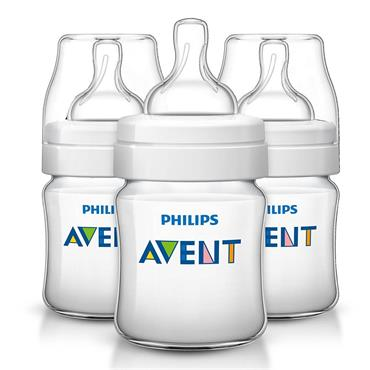 AVENT CLASSIC  FEEDING BOTTLE 3 PACK - 260ML