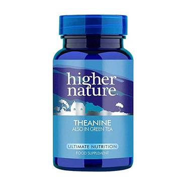 Higher Nature Theanine 90 Capsules