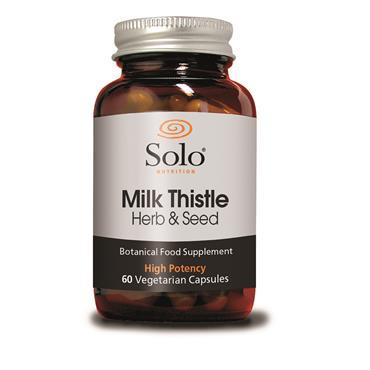 Solo Milk Thistle 60 Caps