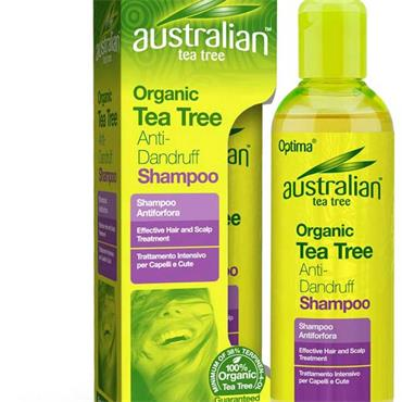 Australian Tea Tree Organic Tea Tree Anti - Dandruff Shampoo 250ml