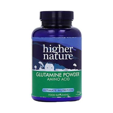 Higher Nature Glutamine Powder 200g