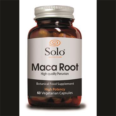 Solo Maca Root 4000mg 60 Capsules