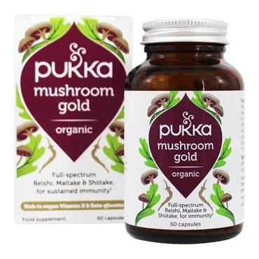 Pukka Musrhoom Gold Organic 60 Capsules