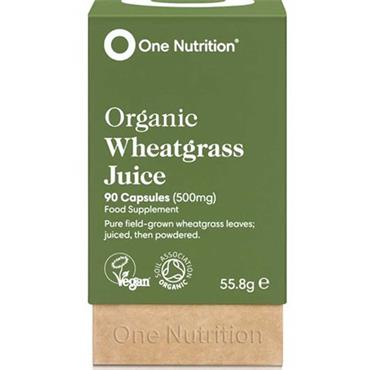 One Nutrition Organic Wheetgrass Juice 90 Capsules