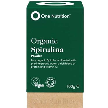 One Nutrition Organic Spirulina Powder 100g
