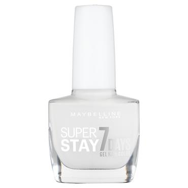 Maybelline SuperStay 7 Days Gel Nail Polish Snowed In