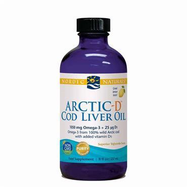 Nordic Naturals Arctic-D Cod Liver Oil™