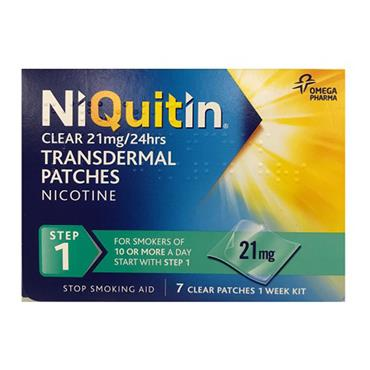 Niquitin 21mg Step 1 14 patches