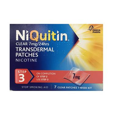 Niquitin 7mg Step 3 7 Patches