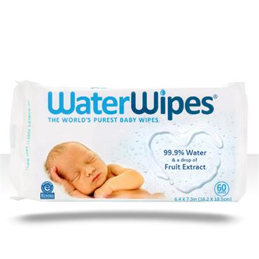 WATERWIPES BABY WIPES - 60 WIPES