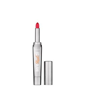 BENEFIT They're Real Double The Lip Revved Up Red