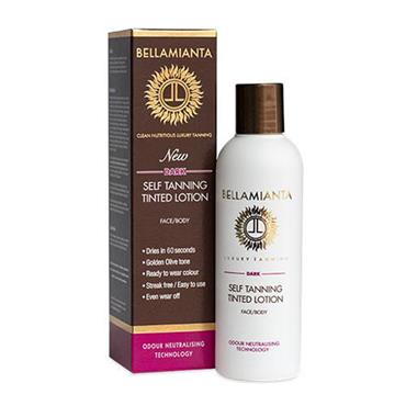 Bellamianta Self Tanning Tinted Lotion Dark 150ml