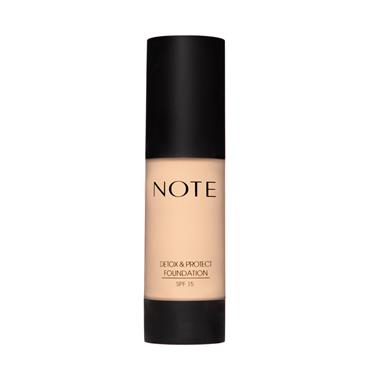 NOTE Detox & Protect Foundation 01 Beige