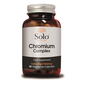 SOLO Chromium Complex 60 Capsules