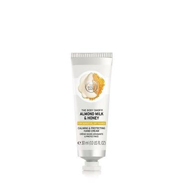 THE BODY SHOP Almond MILK & Honey Body Lotion for Sensitive Dry Skin