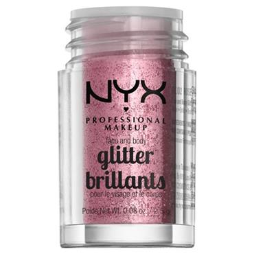 NYX Face & Body Glitter - Rose