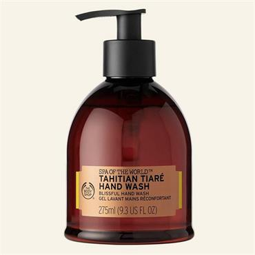 The Body Shop Spa Of The World Tahitian Tiare Hand Wash 275ml