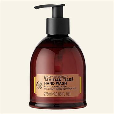 The Body Shop Spa Of The World Tahitian Tiare Hand Wash 275ml