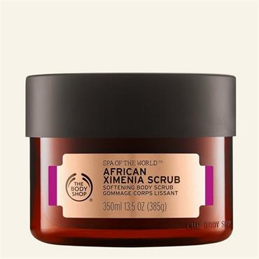 The Body Shop Spa Of The World African Ximenia Scrub 350ml